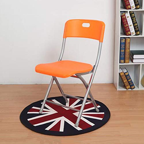 Vouwstoelen, Sterk stalen frame, Plastic stoel, Voor Balkon Tuinstoelen Thuis Kantoor Dineren CJC