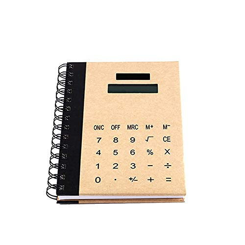 Wissenschaftlicher Taschentaschenrechner Standard-funktions Taschentaschenrechner Solar Taschentaschenrechner Multifunktions-notebook Kombination Taschentaschenrechner Für Schule Home and Office