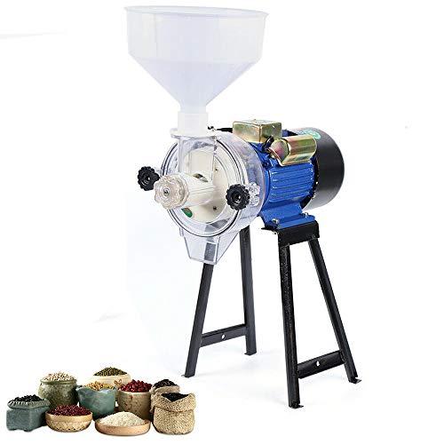 Getreidemühle Elektrisch Wet Kornmühle 50 Kg/H 2,2 Kw Multizerkleinerer Superfeine Schrotmühle Für Nüsse Gewürze Getreide Kaffeebohnen Mühle