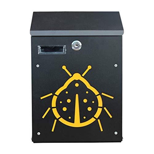 ZXN RTU Security Durable Buzones de correo/montaje en pared exterior Buzones de acero inoxidable Lock Bar buzón impermeable y a prueba de polvo buzón queja