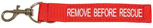 """tee-uu REMOVE Anhänger """"REMOVE BEFORE RESCUE"""" - perfekt für die Atemschutzüberwachung!"""