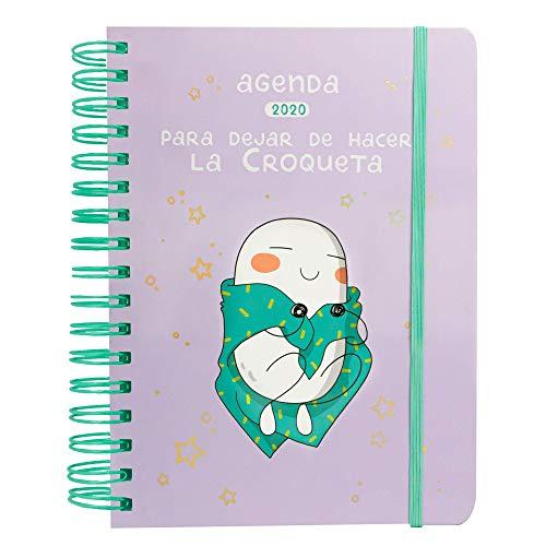 Agenda anual 2020 Croqueta (TANTANFAN)