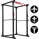 FDW Adjustable Power Cage 800lb Weight Capacity Olympic Power...
