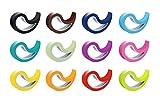 Stoppy Tope de Puerta/Ventana Juego de 12 Asequible en 4 Variantes (Lleno de Colorido)