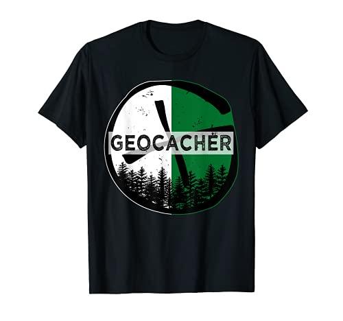 Regalo geocacher para verdaderos fanáticos del geocaching Camiseta