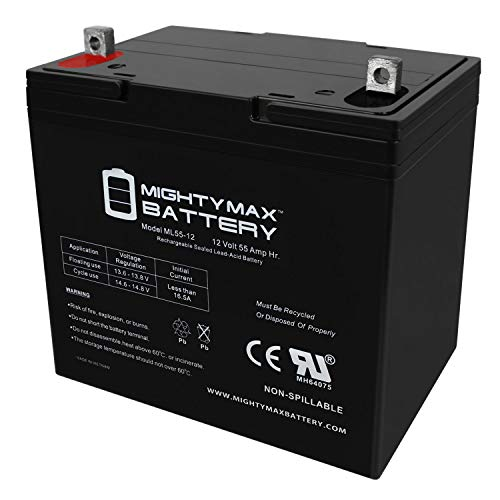 large 12 volt deep cycle battery - 5