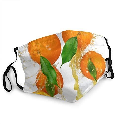 Comfortable fashion Face Mask Lemon Yellow Milk Honey Drops Mouth Face Protect Bandana Balaclavas Dust Mask