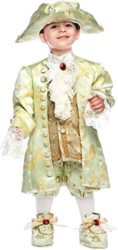 VENEZIANO Costume Carnevale da Casanova Neonato Vestito per Neonato Bambino 0-3 Anni Travestimento Halloween Cosplay Festa Party 50718 3 Anni