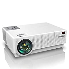 🌻 [Innovative One-Click to Brighten & 4D Keystone Correction Function] Our Y31 hd projector is the first projector with One-Click to Brighten function and Auto Vertical Correction. With manually ± 50° 4D (Vertical & Horizontal) Keystone Correction, O...