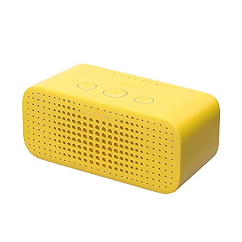 For Sale! HUIJUNWENTI Tmall Elf Square Sugar R Smart Speaker Bluetooth Audio Small Smart AI Alarm Cl...