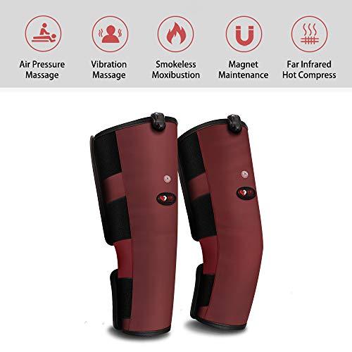 AMZ BCS Erhitzt Knie Massagegerät Elektrisch Heizung Massage Knieschoner Moxibustion Heiße Komprimierung Elektrothermisch Gamaschen Kniegelenk Luftdruck Massage Physiotherapie-Instrument