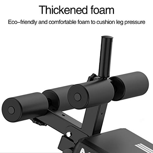 Wdminyy Sit Up Bench Adjustable Bench | Abs Bench | Foldable Workout Bench | Strength Training Adjustable Benches Fitness Equipment For Home Gym (US Fast Shipment)
