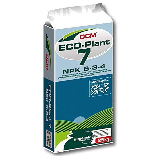 DCM ECO-PLANT 7 25kg Veganer Universaldünger Gemüsedünger Obstdünger Rasendünger
