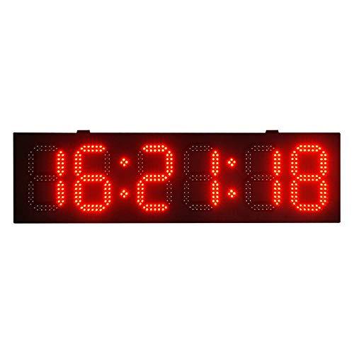 DGZJ ScoreBoards & Timer Anzeige mit Fernbedienung Countdown Timer Multifunktions 8
