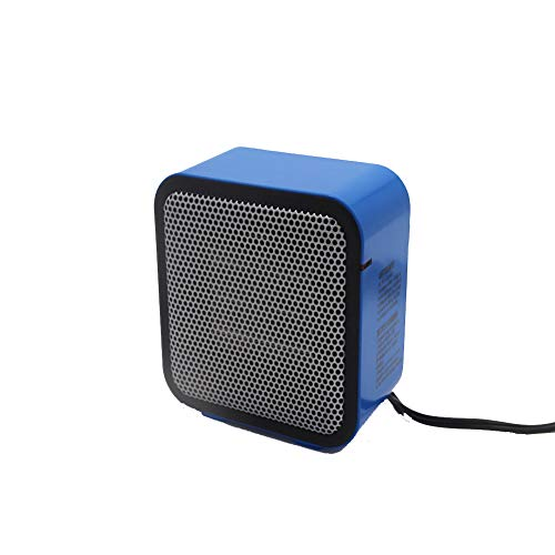 WUYI Mini-Energiesparheizung PTC-Keramikheizung Home Office Kleine Heißluftheizung Intelligente Temperaturregelung 600W