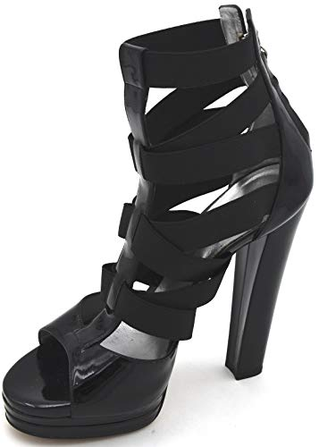 Casadei Damen HIGH Heels Pumps Sandalen Sandalette Freizeit Casual Art. 4193CZ 39 Nero Black