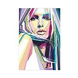 Britney Spears Leinwand-Poster, Wandkunst, Dekordruck,