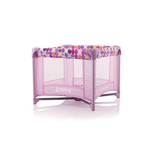 Joovy Toy Room² Doll Playard, Doll Accessory, Doll Furniture, Pink Dot