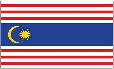 Fahne / Flagge Malaysia - Kuala Lumpur 90 x 150 cm