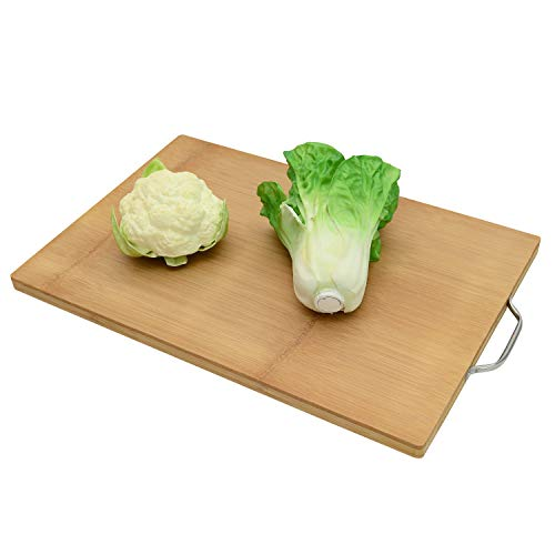 AKOZLIN まな板 竹製 調理用まな板 フック付 カッティングボード 菜板 砧板 まな板シート 50*34*2.0cm 抗菌 軽量な環境に優しい