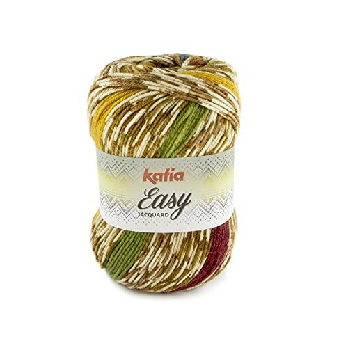 Katia Easy Jacquard Color 103 - Ovillo de lana (250 g, 400 m)