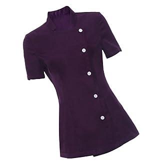 Sharplace Uniforme Camiseta de Balneario SPA Salón Belleza Masaje Esteticista Túnica Terapeuta para Mujer Señora