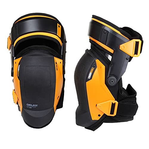 ToughBuilt - Gelfit Thigh Support Stabilization Knee Pads - Heavy Duty, Comfortable and Adjustable - (TB-KP-G3)