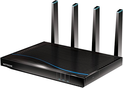 NETGEAR R8500 Nighthawk X8 Tri-Band AC5300 (5.3 Gbps) Smart Wi-Fi Router - Alexa enabled