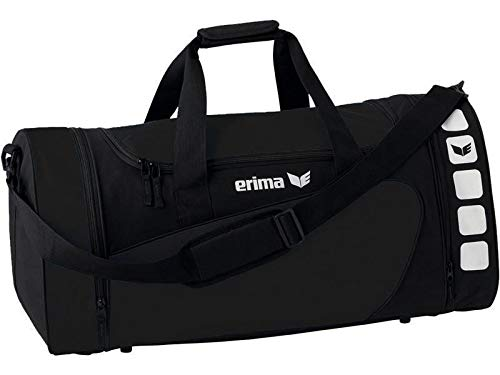 Erima Sporttasche, schwarz/Schwarz, S, 28 Liter