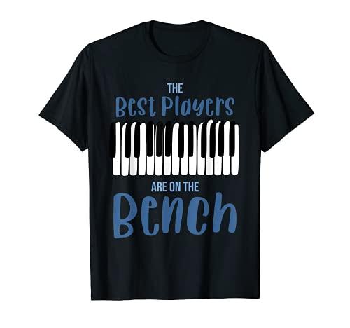 Jugador de piano, frases divertidas. Camiseta
