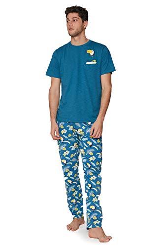 MR WONDERFUL Pijama Manga Corta Tucan para Hombre