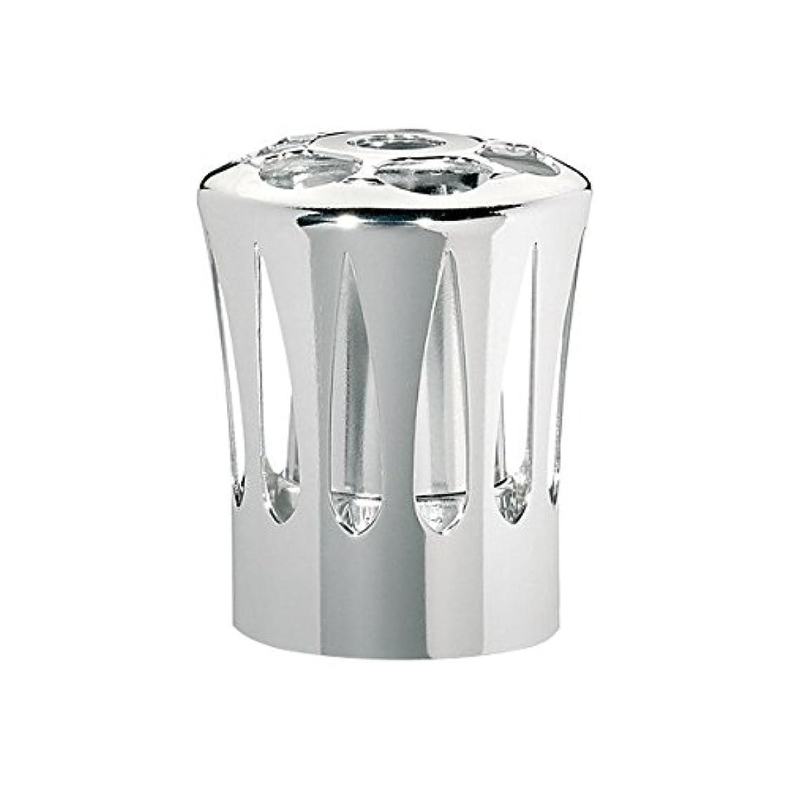取得巻き戻す飲み込むランプベルジェ(LAMPE BERGER) 安全キャップ【正規輸入品】飾り蓋シルバー