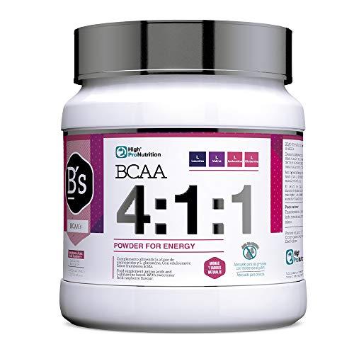 BCAA 4:1;1 POWDER 300 g - Sabor Frambuesa ácida