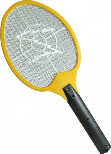 H+H TS 103 Insektenvernichter, Tennisschläger ohne Batterien