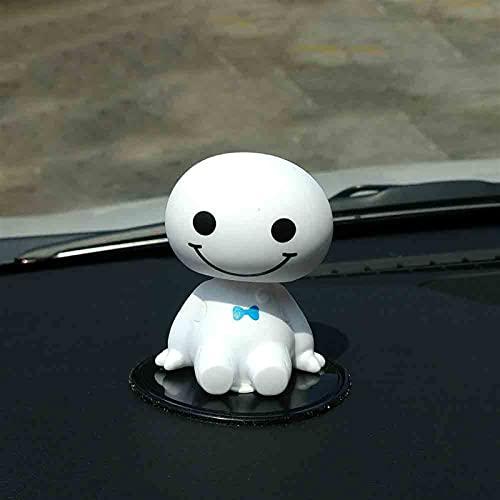 ZTTT Robot de plástico de Dibujos Animados Sacudiendo la Figura Figura Adornos de Coches Auto Decoraciones de Interiores Big Hero Muñeca Juguetes Adornos Accesorios