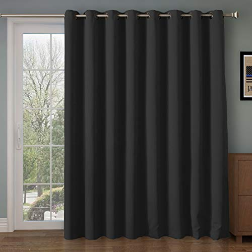 Rose Home Fashion RHF Function Curtain-Wide Thermal Blackout Patio Door...