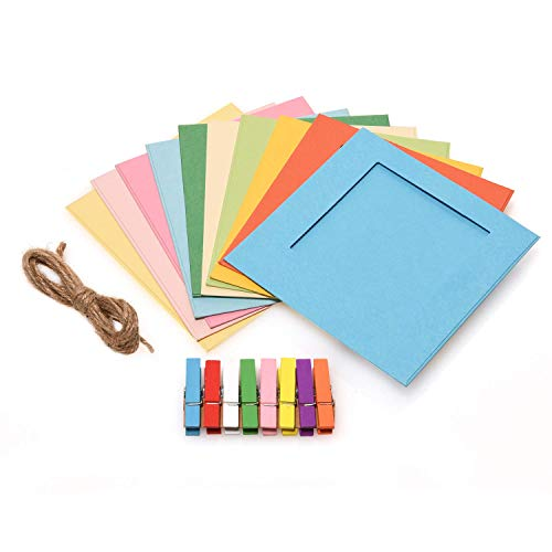 Zink Cornici quadrate colorate per carta Zink 2x3