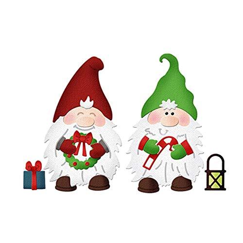 Natale Gnomes Craft Molls Metal Cutting Dies for DIY Scrapbooking embossa Paper Decorative Cards Crafts Dies Cut