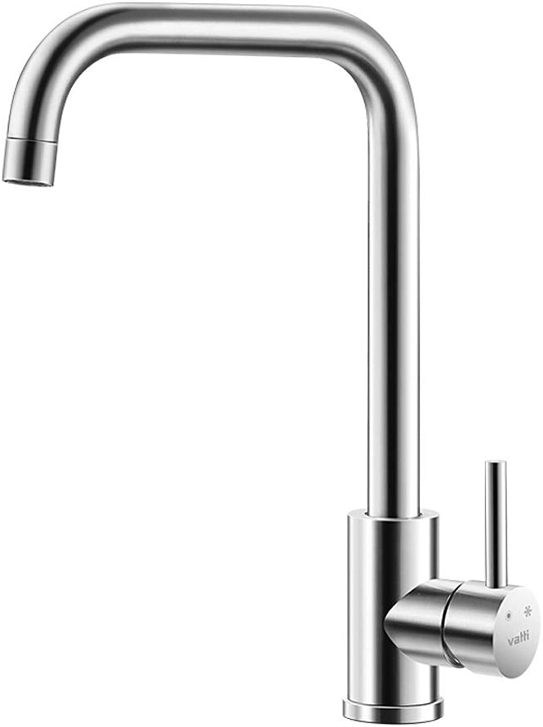 WOOMD Lead-free 304 Stainless Steel Kitchen Faucet Healthy Kitchen Sink Hot and Cold Faucet 360° Free redating Sink Faucet Bar Faucet Copper Main Body Kitchen Faucet Basin Faucet Bathroom Faucet