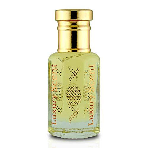 Aceite de perfume para hombres guapos cálido y fresco floral 12 ml Roll-on botella de aceite por Luxury Scent Premium calidad UNISEX Attar fragancia última larga