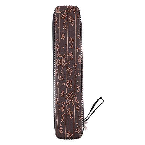 KESYOO Geschenkbox aus Bambusflöte Leere Kunstledertasche Stoßfeste Feuchtigkeitsbeständige Kleine Tasche