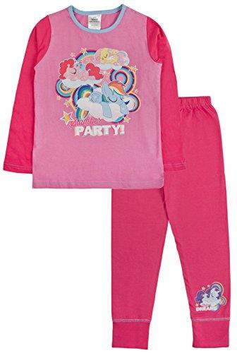 My Little Pony Mädchen-Schlafanzug Gr. 4-5 Jahre, Schlummerparty