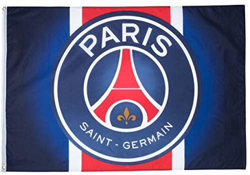 Flagge PSG - 100 x 140 cm - Fußball - Ligue 1 PSG Paris Saint Germain offizielle Kollektion