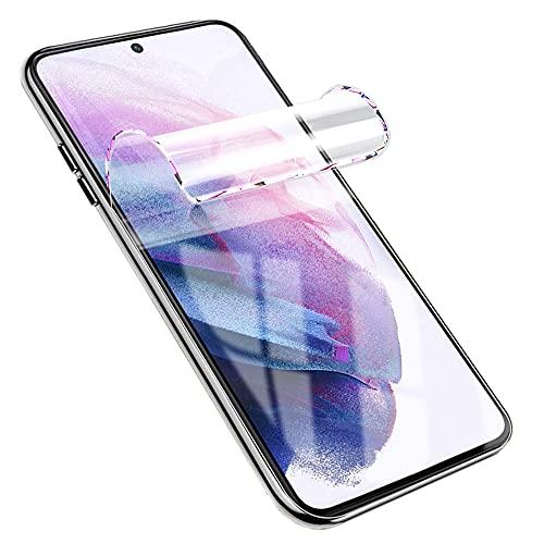 Iiseon Premium hidrogel Protector de Pantalla para Samsung Galaxy A50 (SM-A505F), A50S, 2 Unidades Suave Película Protectora [Transparente] [Alta sensibilidad] (Película no templada)