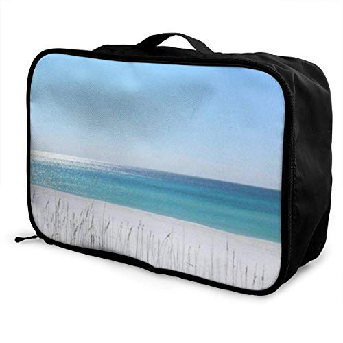 bolsas de maleta Panama City Florida Beach Young Men and Women School Luggage Bag Lightweight Large Capacity Portable Holiday Travel Bags Tote Duffel Carry-on in Trolley Holiday Suitcase Bags