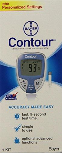 buy  Bayer Contour Blood Glucose Monitoring System ... Blood Glucose Monitors