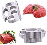 Practical Meat Knock, Meat Tenderizer Hammer for Steak, Beef Mince Mallet Pounder Stainless Steel Steak Beef Hammer Kitchen Cooking Tools Meat Poultry Tools