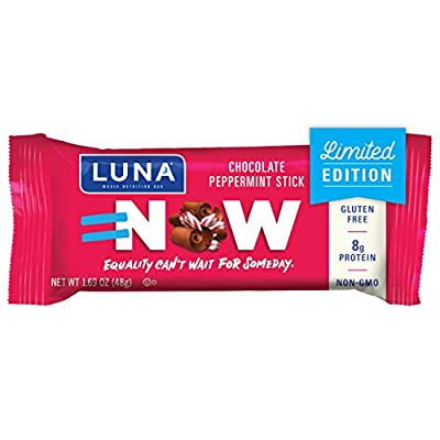 Luna BAR - Gluten Free Bars - Variety Pack - Flavors May Vary (1.69 Ounce Snack Bars)
