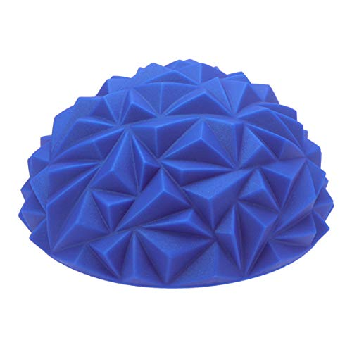 Check Out This LIOOBO Blue Inflatable Stability Training Hemisphere Wobble Cushion Balance Semi-Ball...