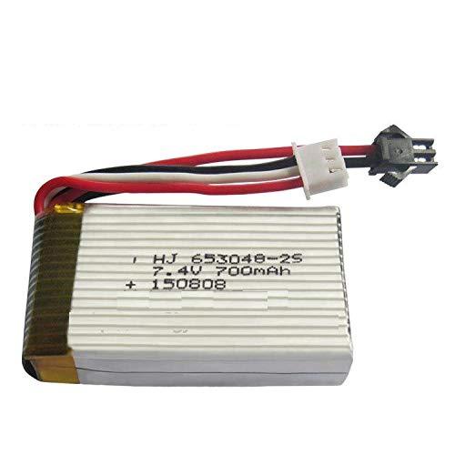 wangxiaoping 2pcs FT007 F1 LH-X6 X5 X3 X3N 7.4V 700Mah batería de polímero de Litio